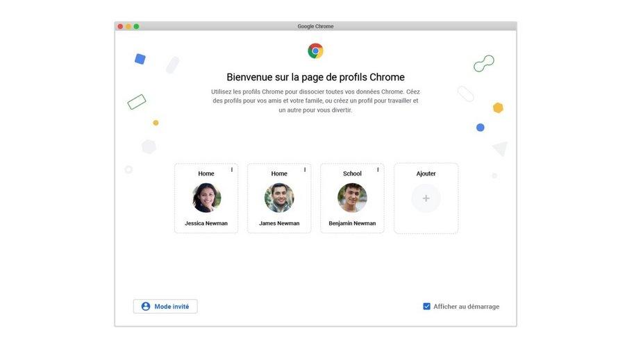 Chrome : Google rend la transition d'un profil à un autre beaucoup plus facile - Clubic