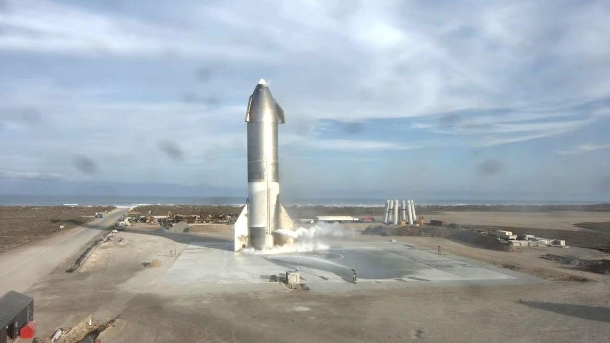 Starship SN10 atterri © SpaceX