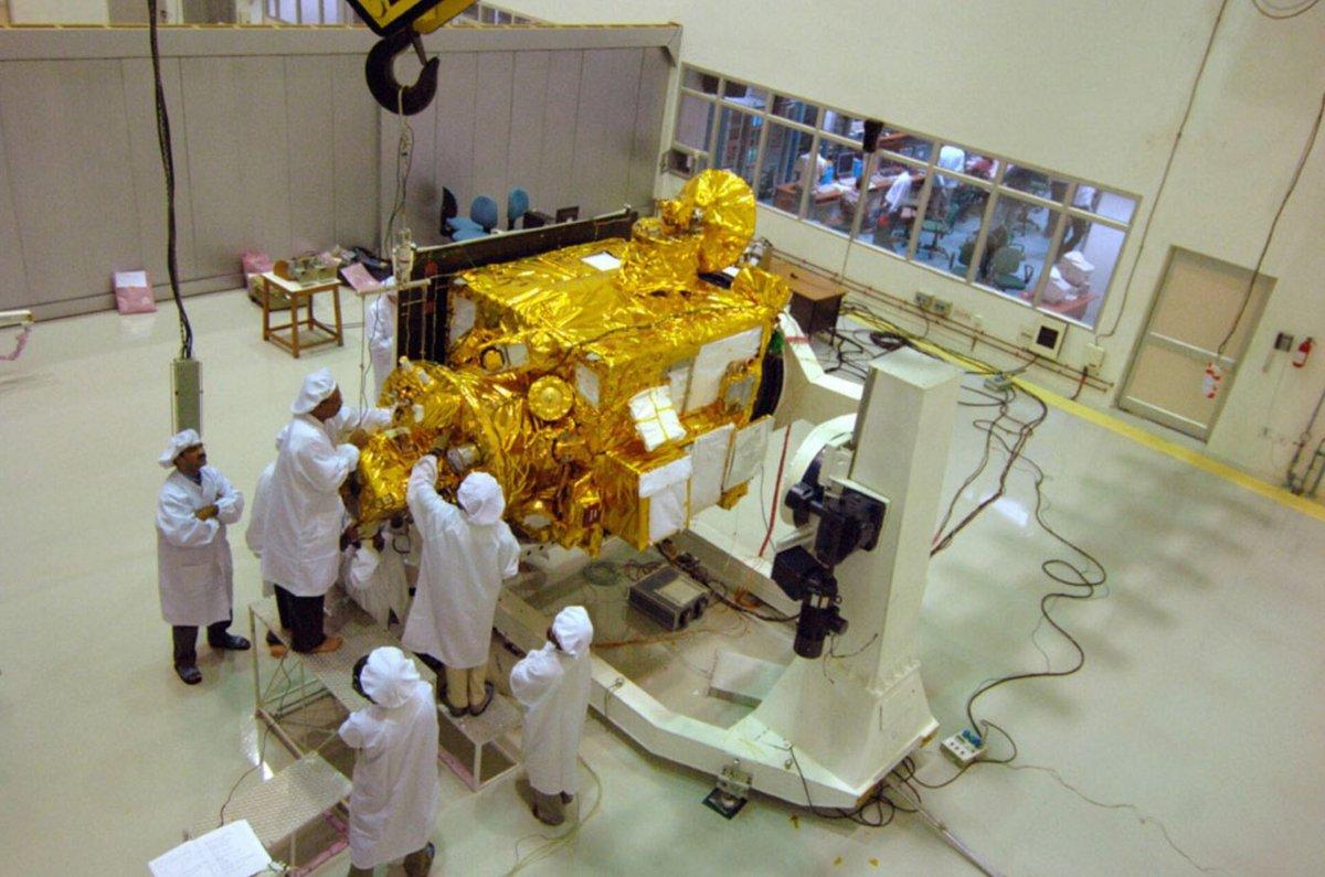 Chandrayaan-1 préparation 3 © ISRO