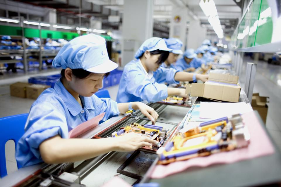 Usine d'assemblage à Shenzhen, Chine © Getty Images