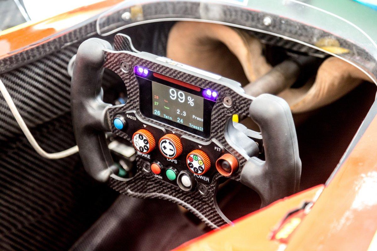 Formula E volant © Cineberg / Shutterstock.com