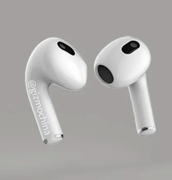 Les Apple AirPods 3 sortiraient ce mois-ci, avec un design effectivement plus proche de celui des Airpods Pro - Clubic