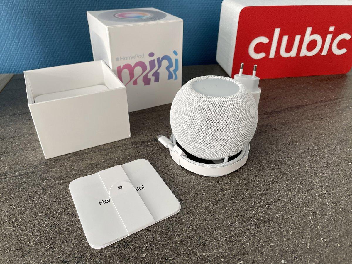 Test HomePod mini © Mathieu Grumiaux pour Clubic