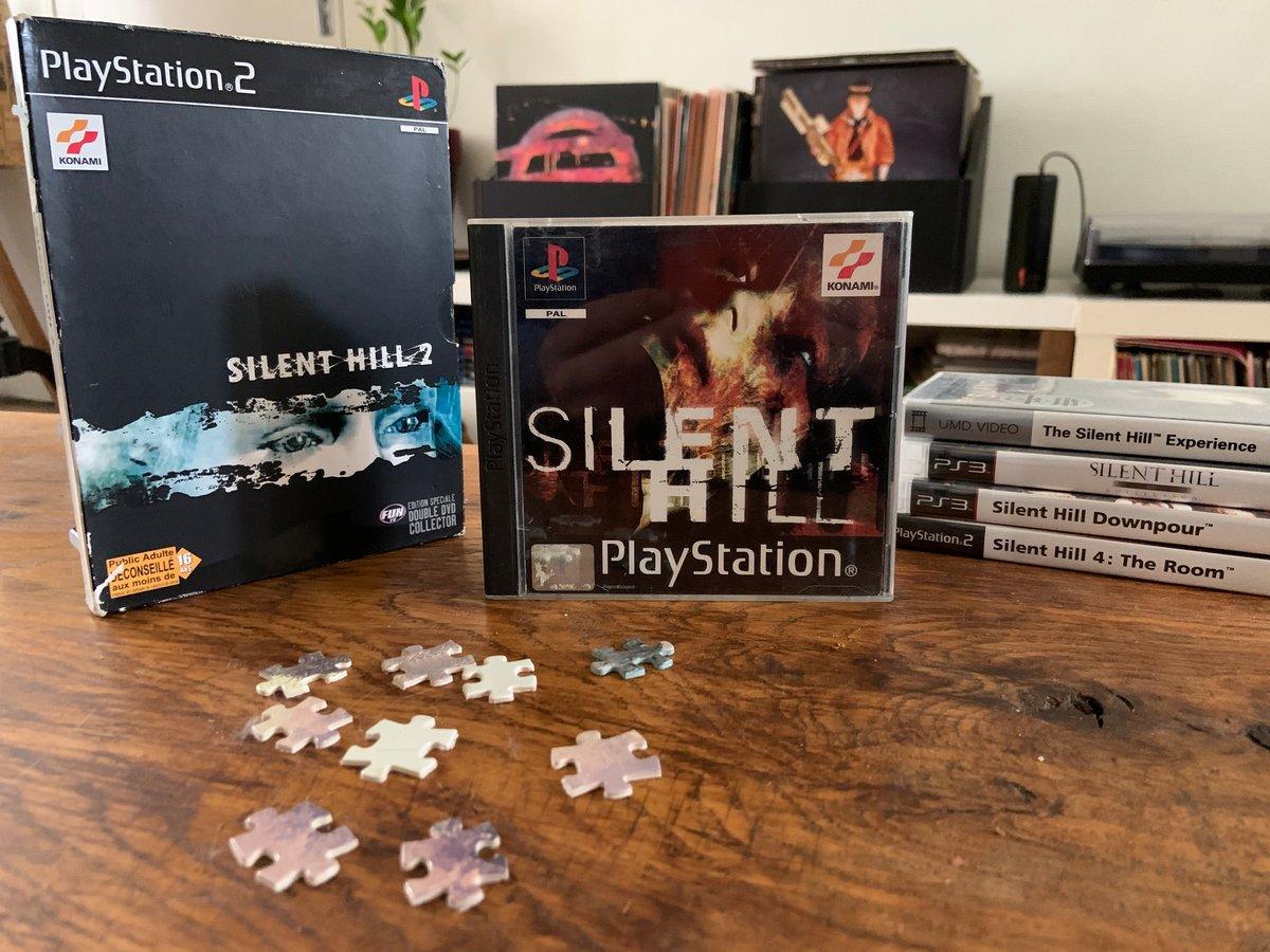 Silent Hill Jaquette