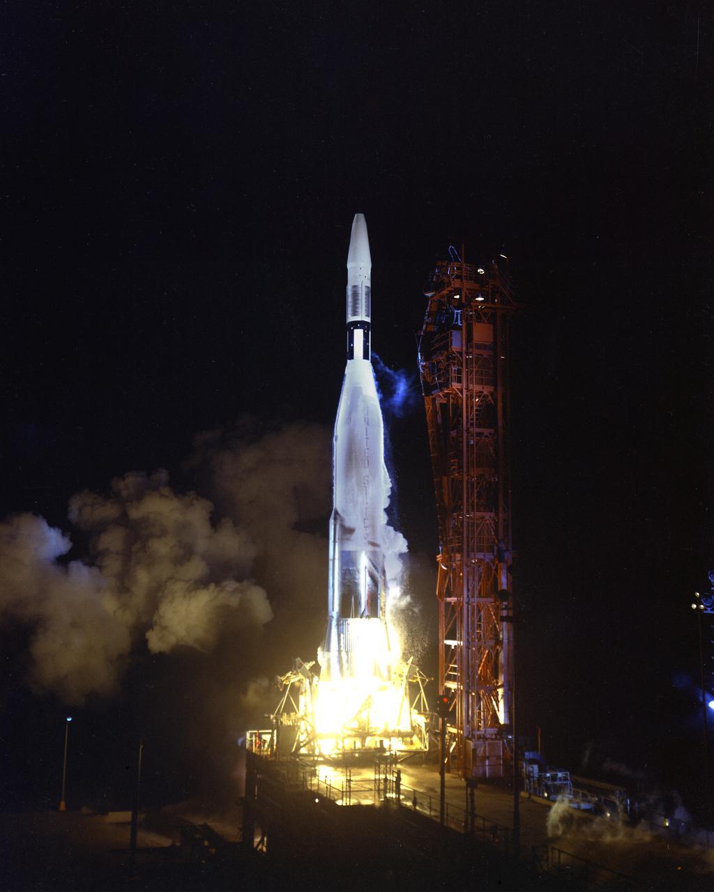 Ranger 1 Atlas Agena © NASA