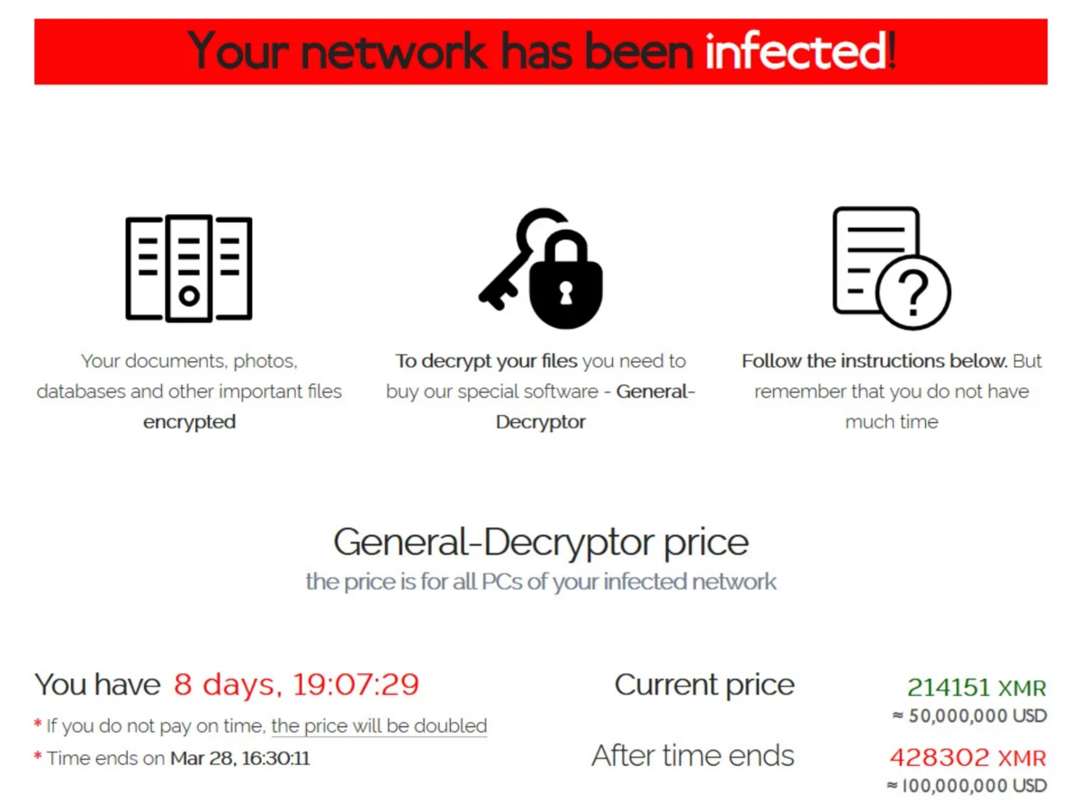 Acer Ransomware © LeMagIT