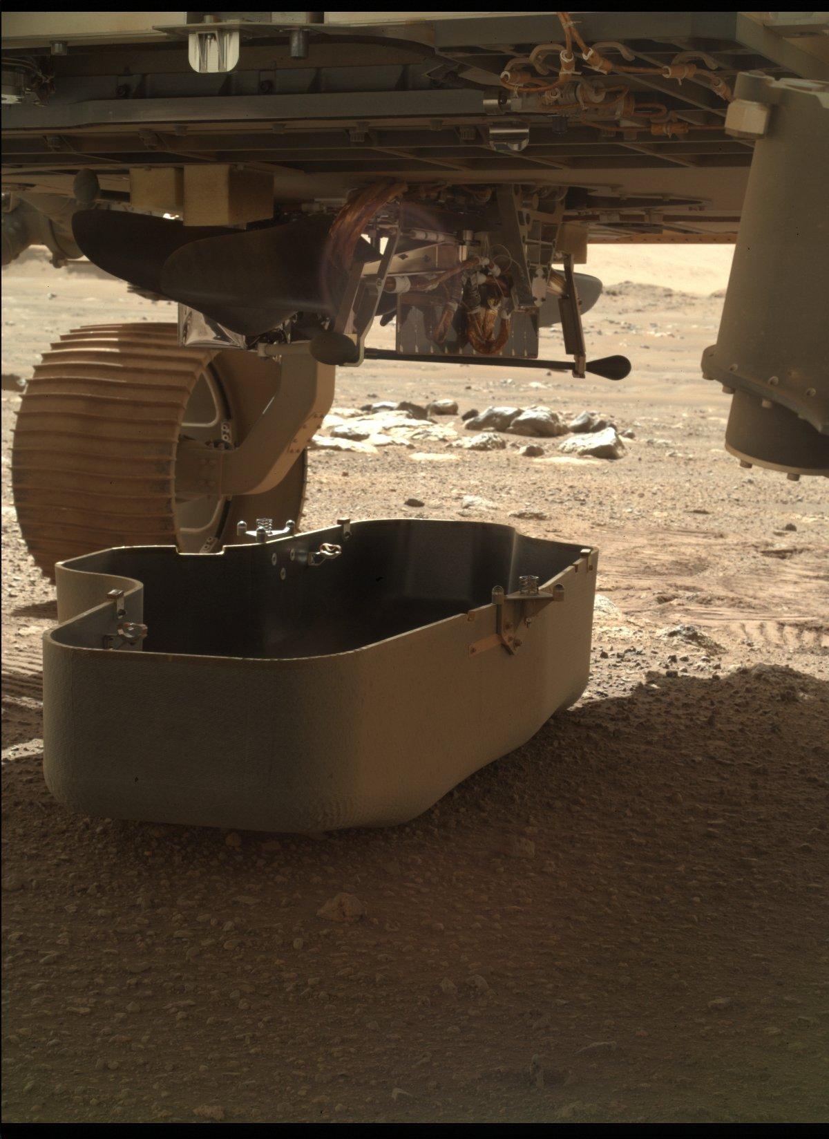 Ingenuity Perseverance cache sol © NASA/JPL-Caltech