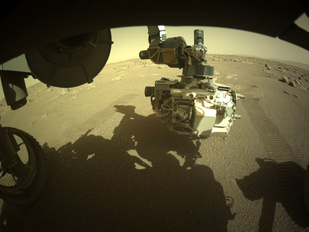 Ingenuity bras robotisé © NASA/JPL-Caltech