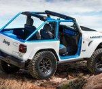 Jeep Magneto : la version 100 % électrique du Wrangler est dévoilée