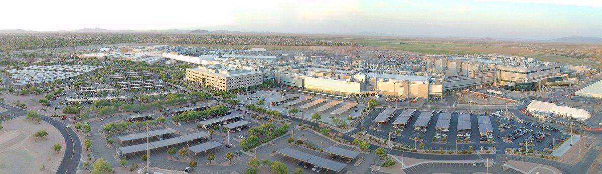 Campus Intel d'Ocotillo en Arizona © Intel