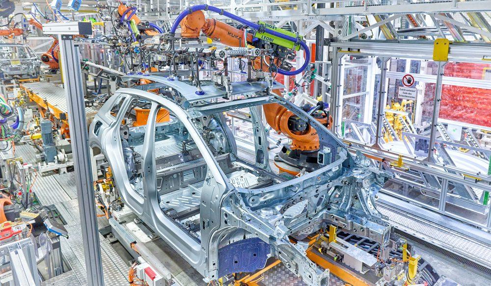 Audi Q4 e-tron usine © Audi