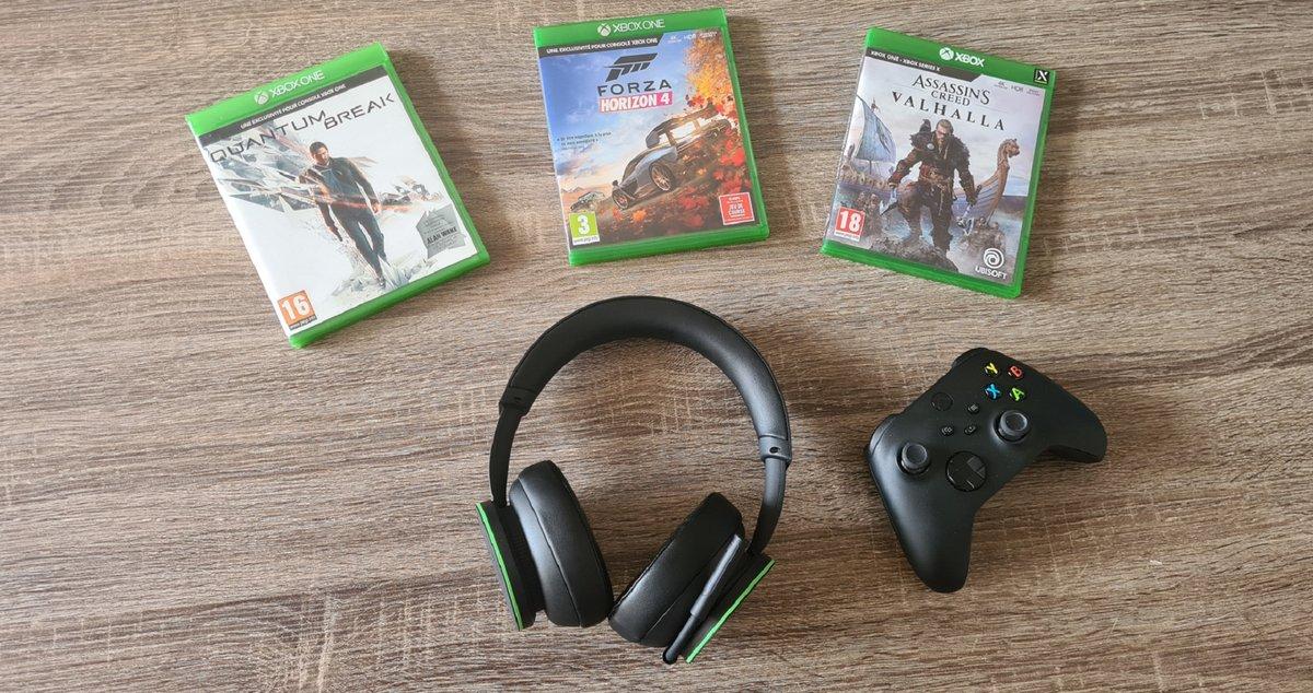 Casque sans fil Xbox test