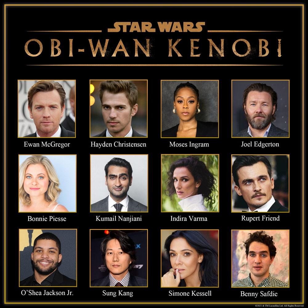 Obi-Wan Kenobi cast © Disney