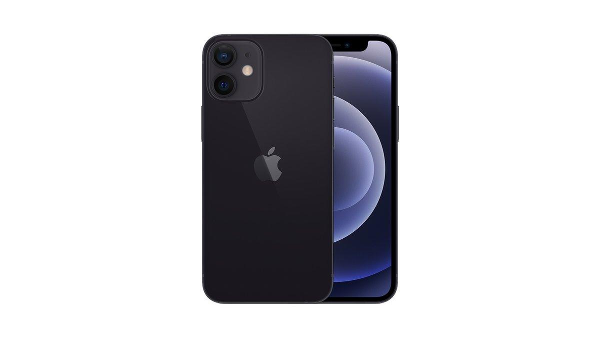 iPhone 12 mini noir bp