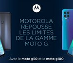 Motorola renforce son offre de smartphones 5G avec les Moto G50 et G100