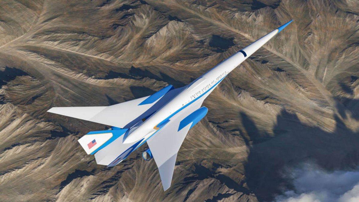 Exosonic avion vue © © Exosonic/CNN