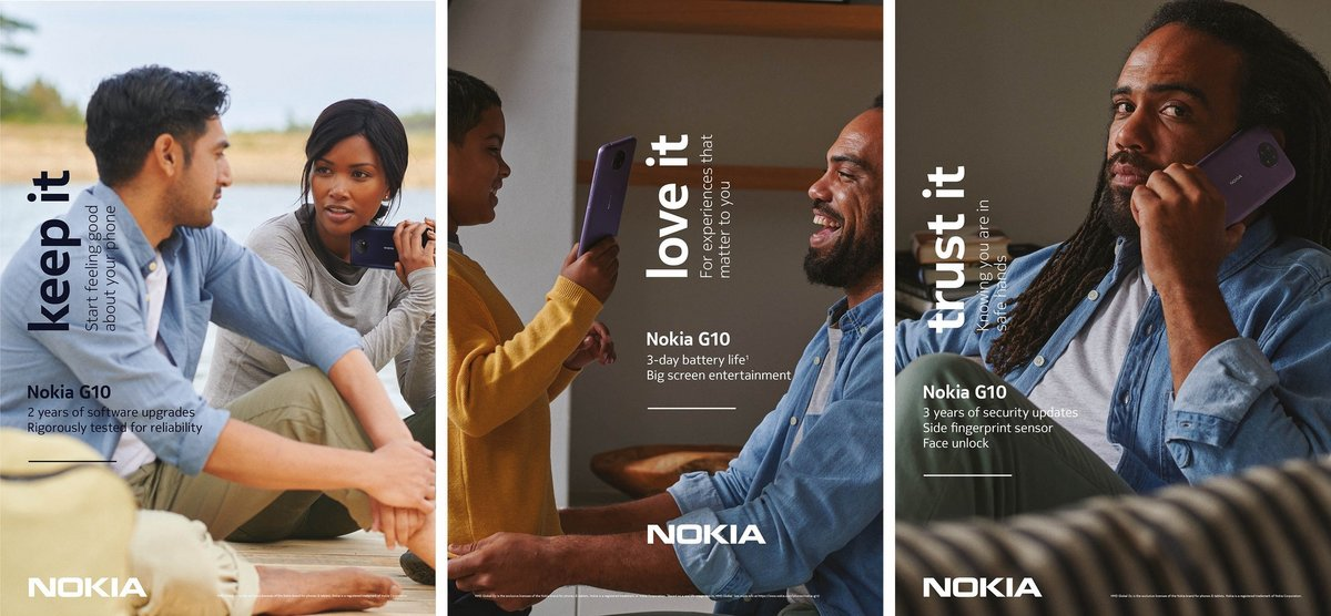 Nokia séries G © Nokia - HMD