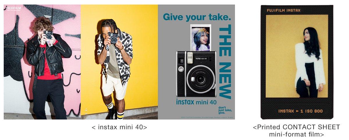 Instax Mini 40 © Fujifilm