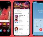 iTest : une application pour transformer votre iPhone... en Samsung Galaxy !