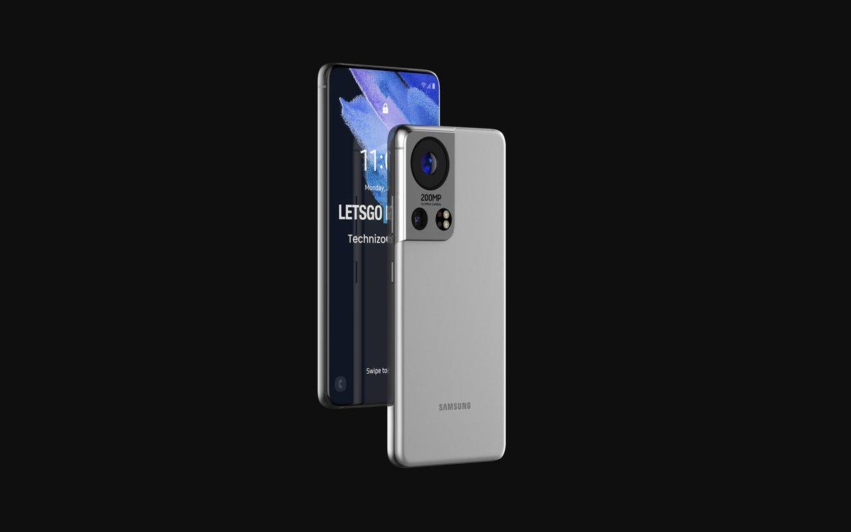 Samsung Galaxy S22 rendu © ©LetsGoDigital