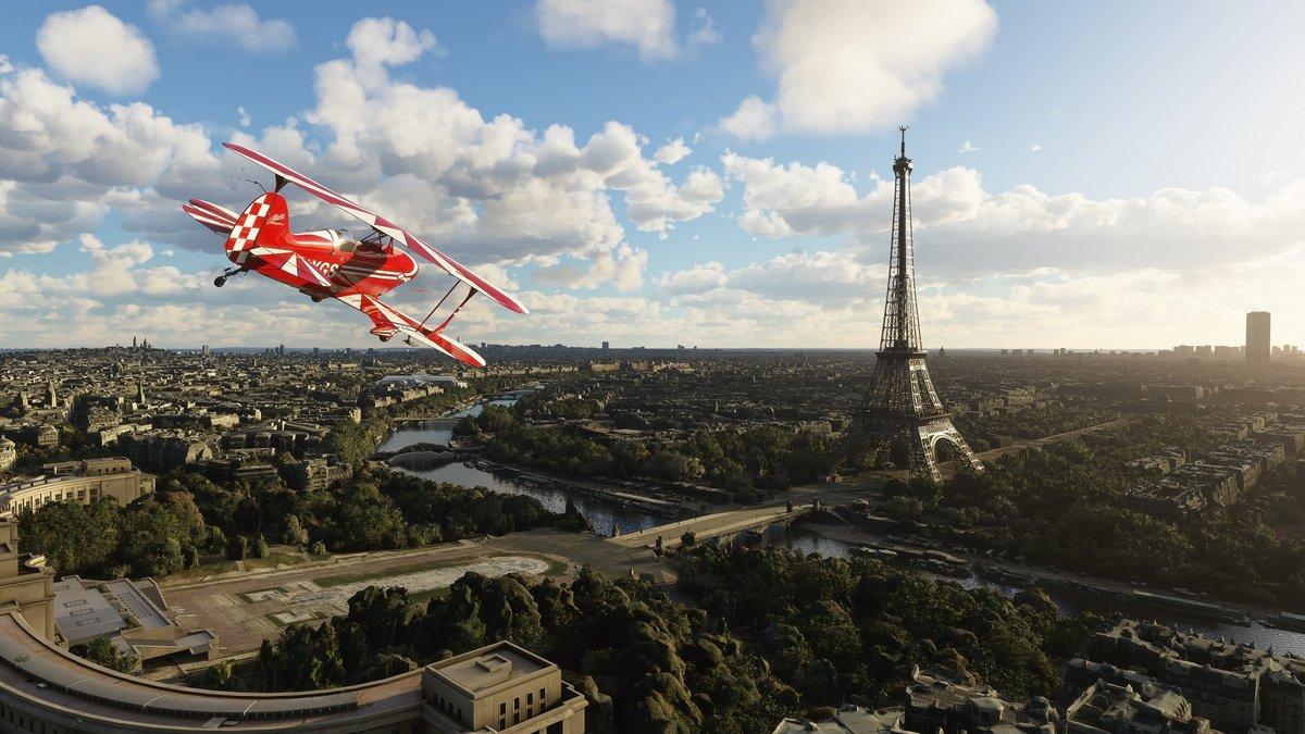 Microsoft Flight Simulator © Microsoft
