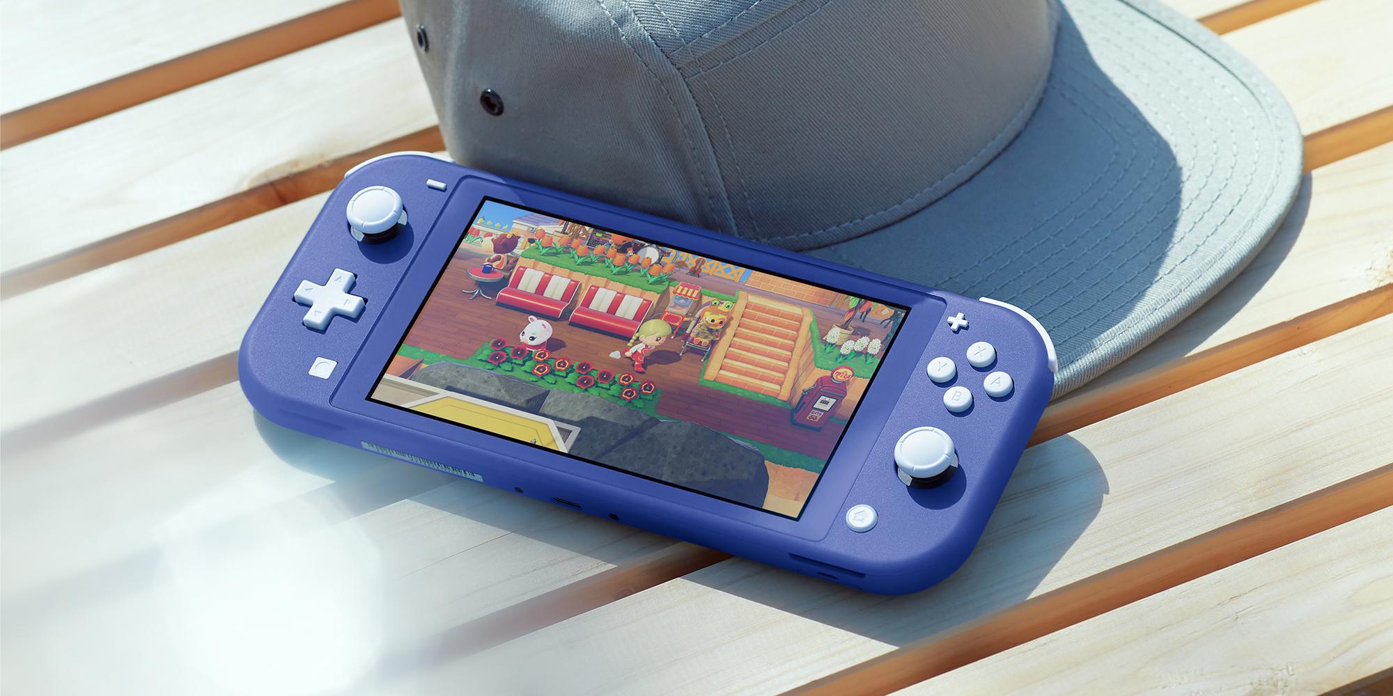 La Nintendo Switch Lite recevra un coloris bleu en mai