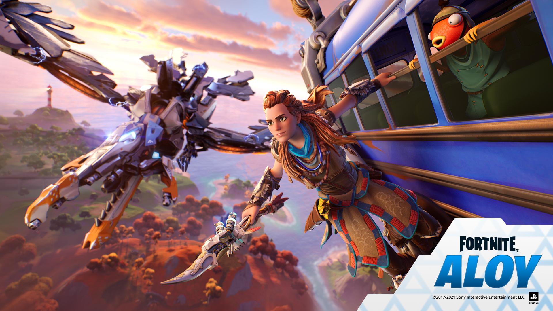 Fortnite : Aloy (Horizon Zero Dawn) débarque dans le jeu
