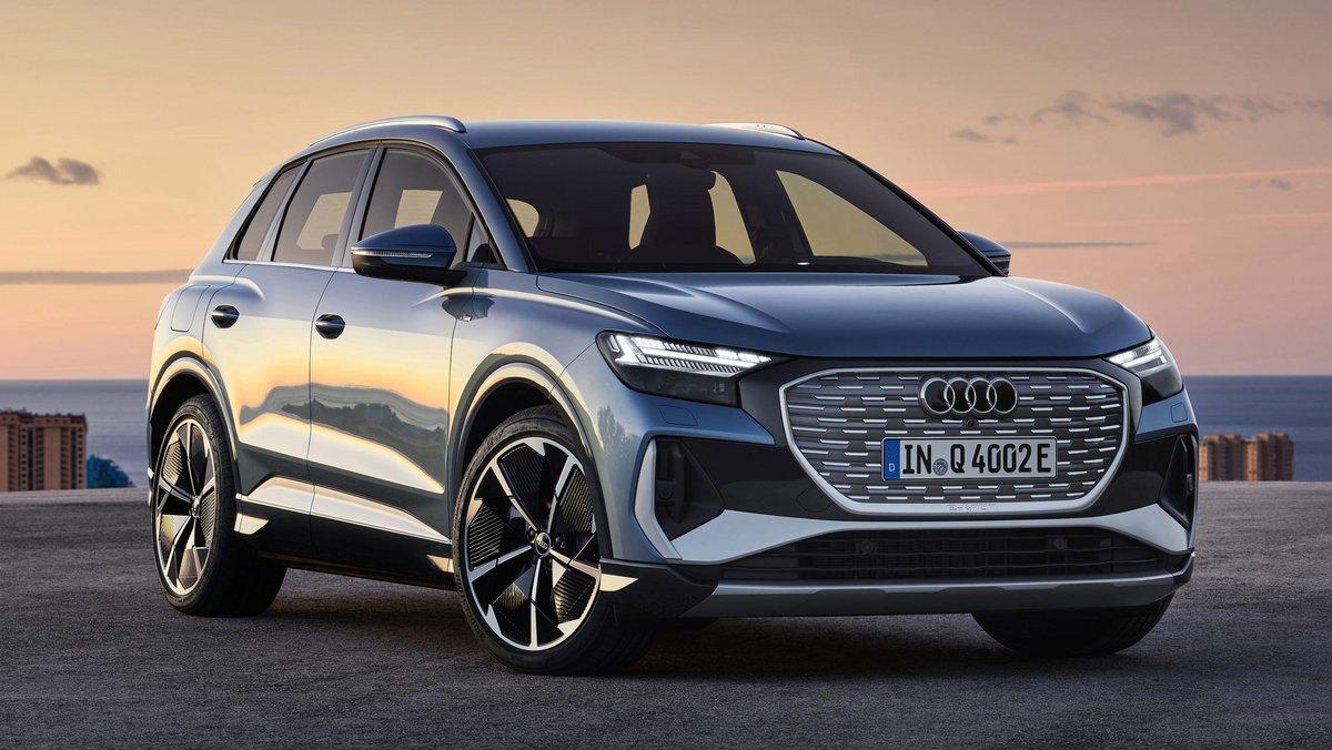 Audi Q4 e-tron © Audi