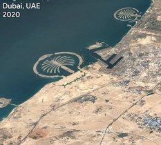 La dernière version de Google Earth permet d'avoir une vision du monde de près de 40 ans !