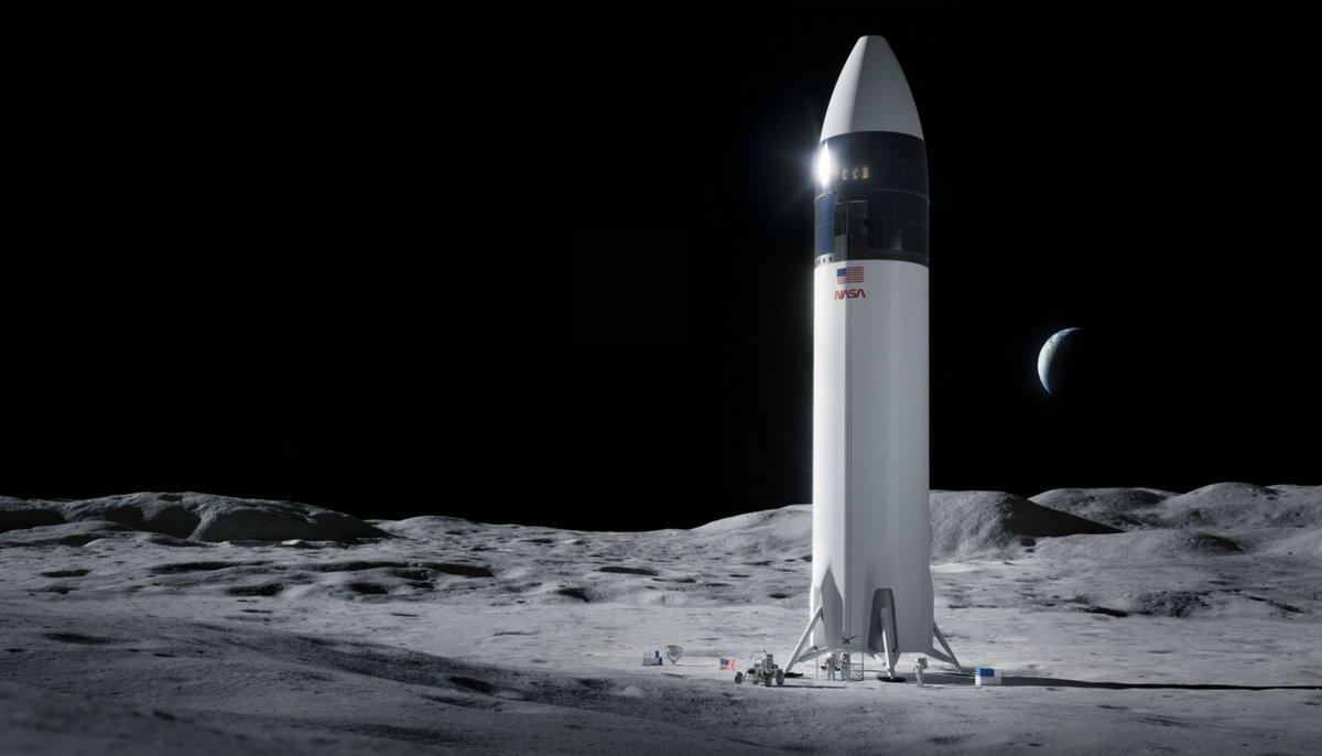 Starship HLS Artemis NASA Lune © SpaceX