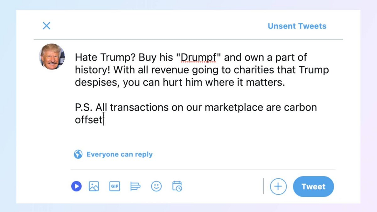 drumpfs tweets trump NFT