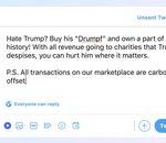 Les tweets de Trump en vente sous forme de NFT pour des bonnes causes (qu'il détestait)
