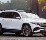 Salon auto de Shanghai : le Mercedes EQB se révèle en détail
