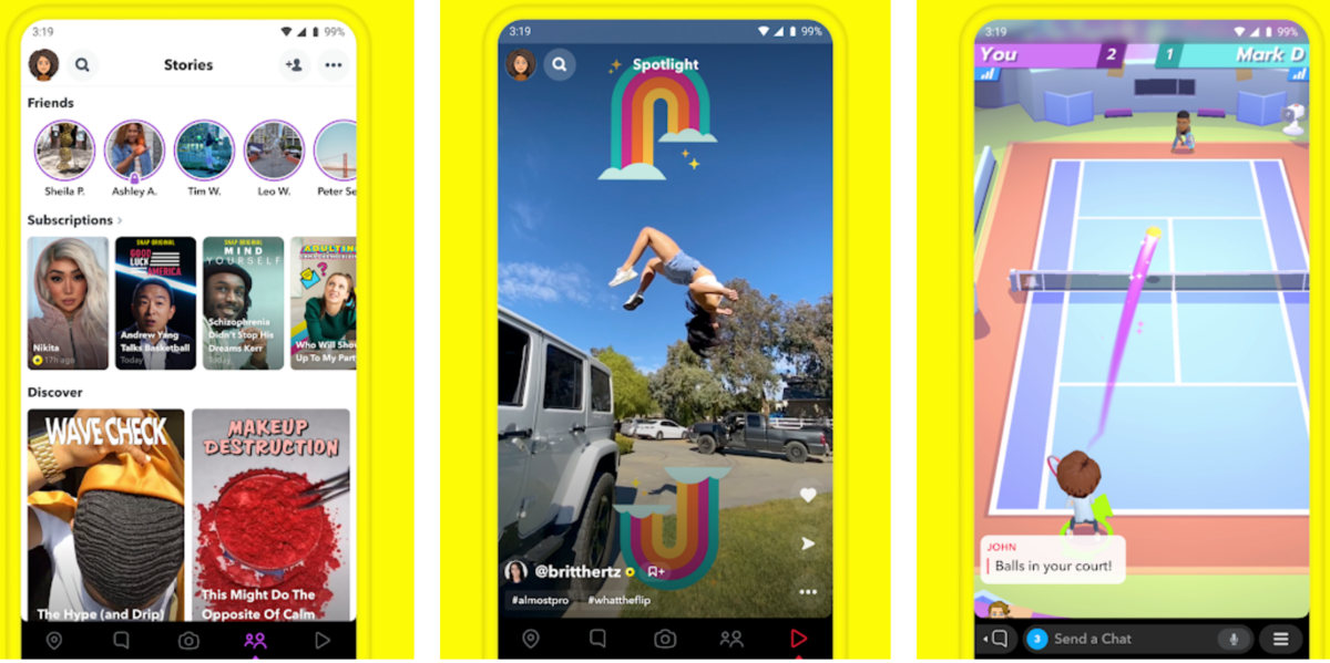 Télécharger Snapchat Android APK