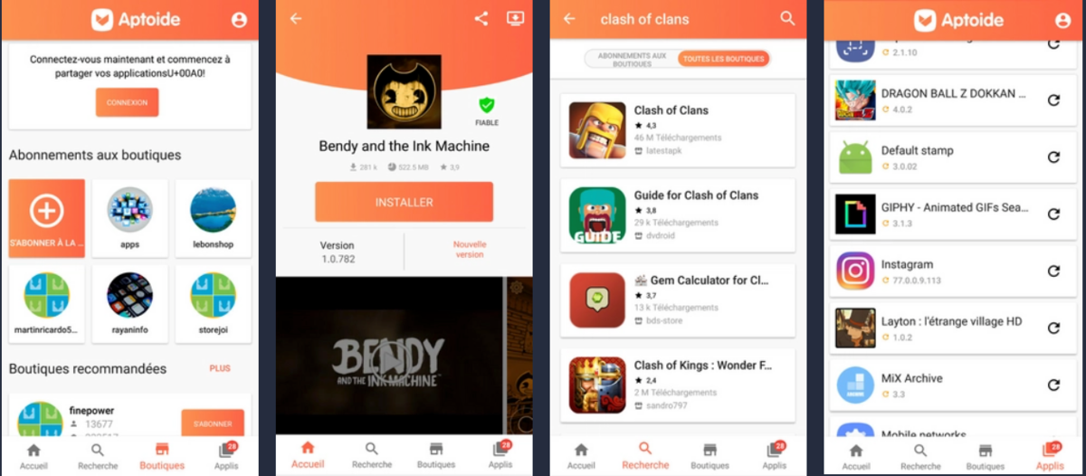 Télécharger Aptoide APK Android