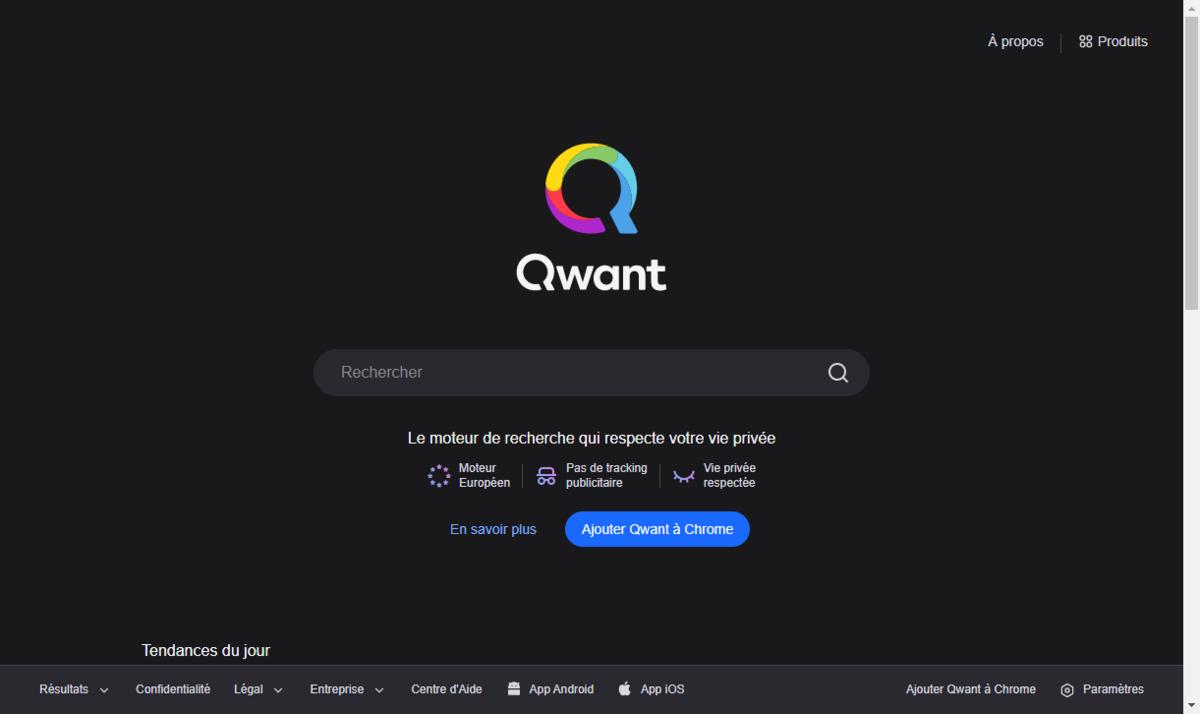 qwant © clubic.com