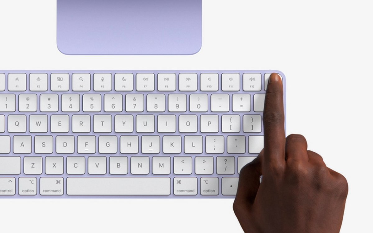 Clavier Touch ID Mac © Apple