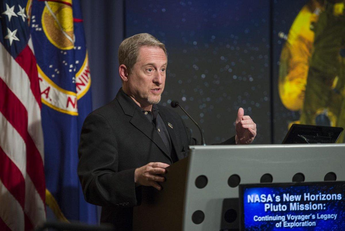 Alan Stern New Horizons NASA © NASA/Joel Kowsky