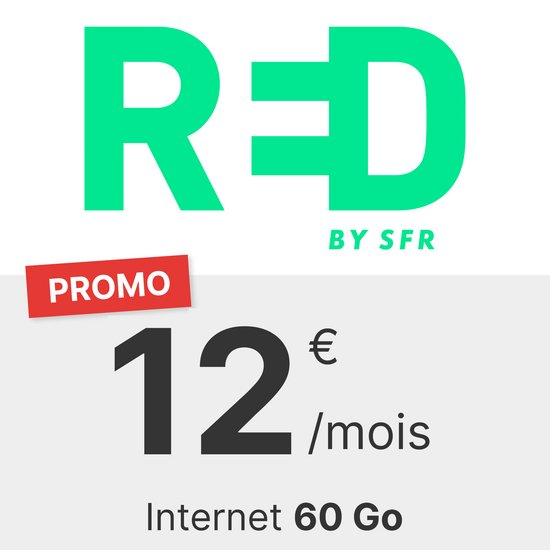 RED by SFR 60 Go
