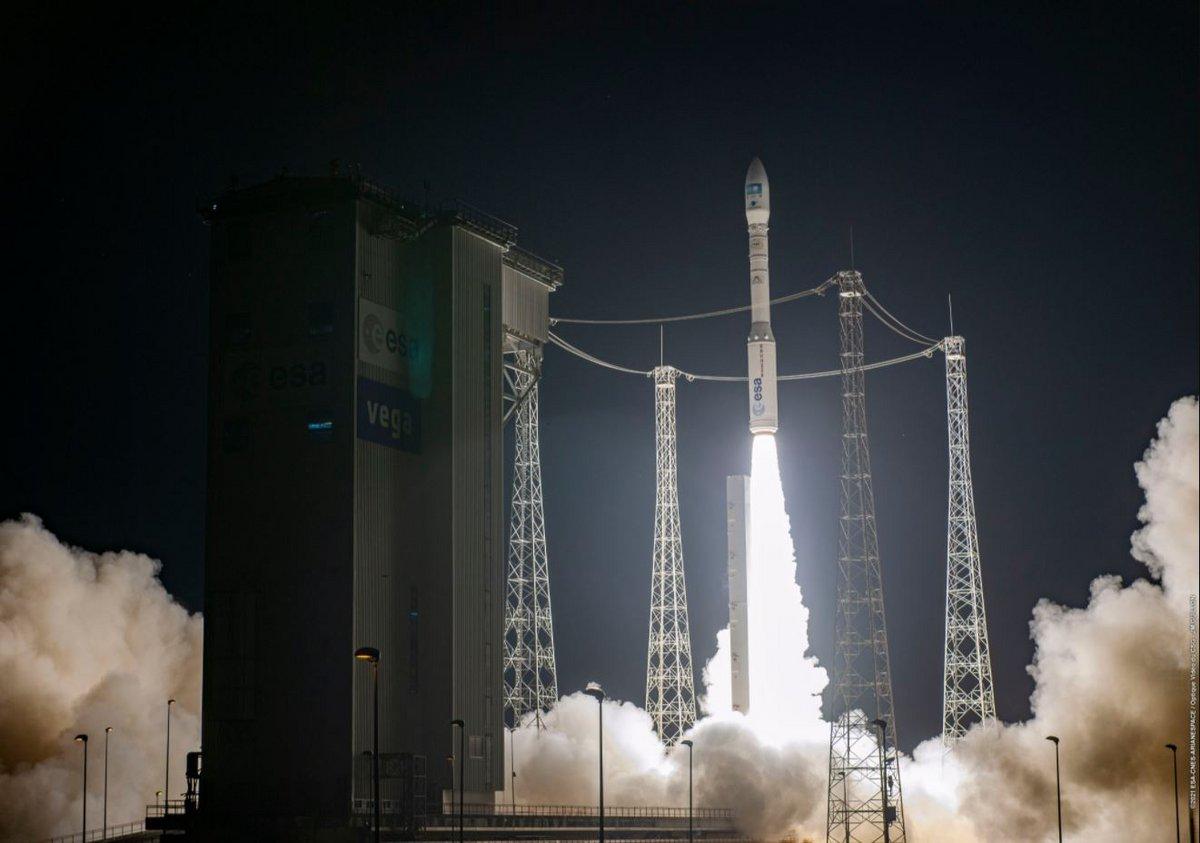 Vega VV18 Pléiades NEO © ESA/CNES/CSG/Arianespace/ JM Guillon