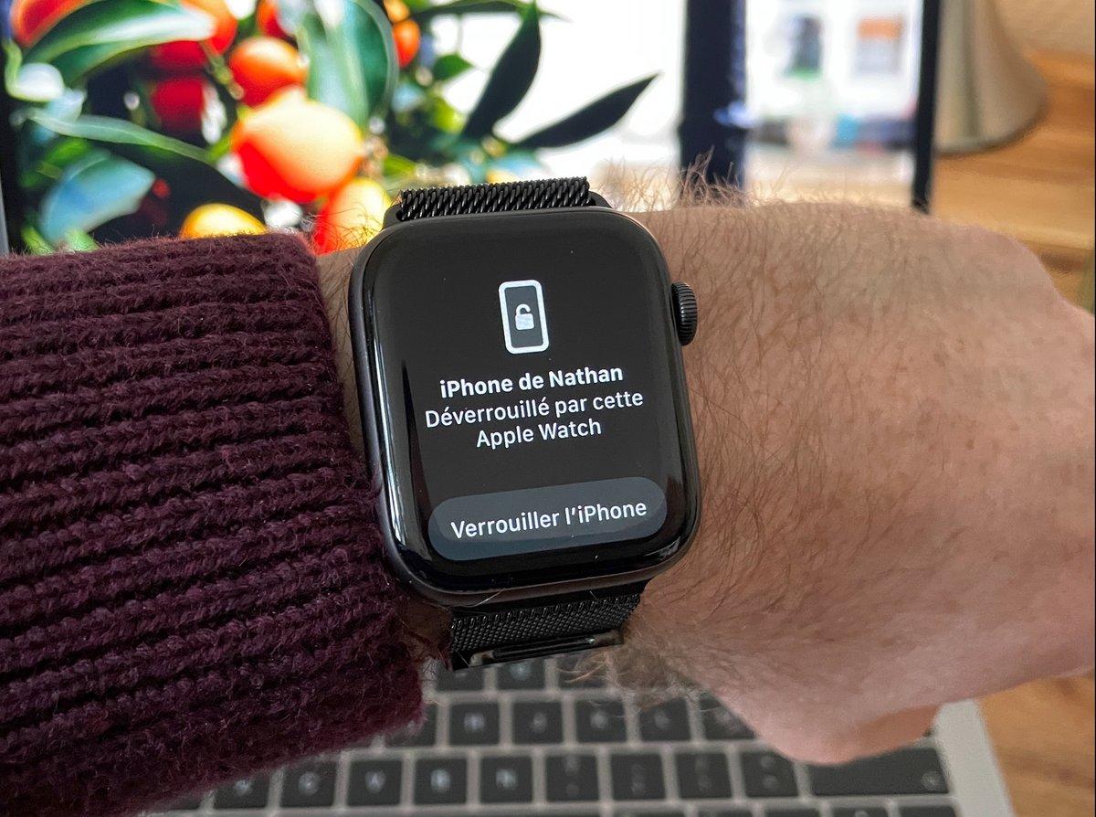 Apple Watch déverrouillage-1 © © Nathan Le Gohlisse pour Clubic