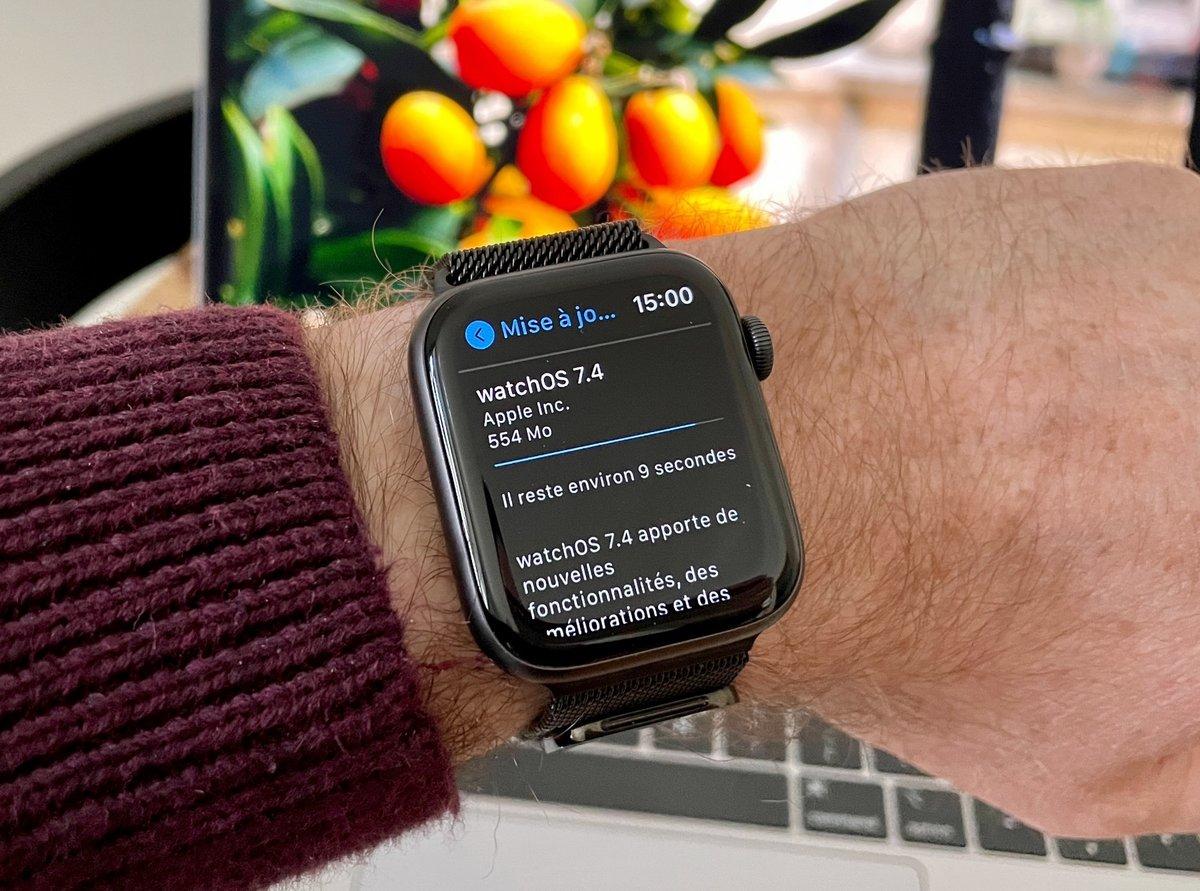 Apple Watch déverrouillage-2 © © Nathan Le Gohlisse pour Clubic