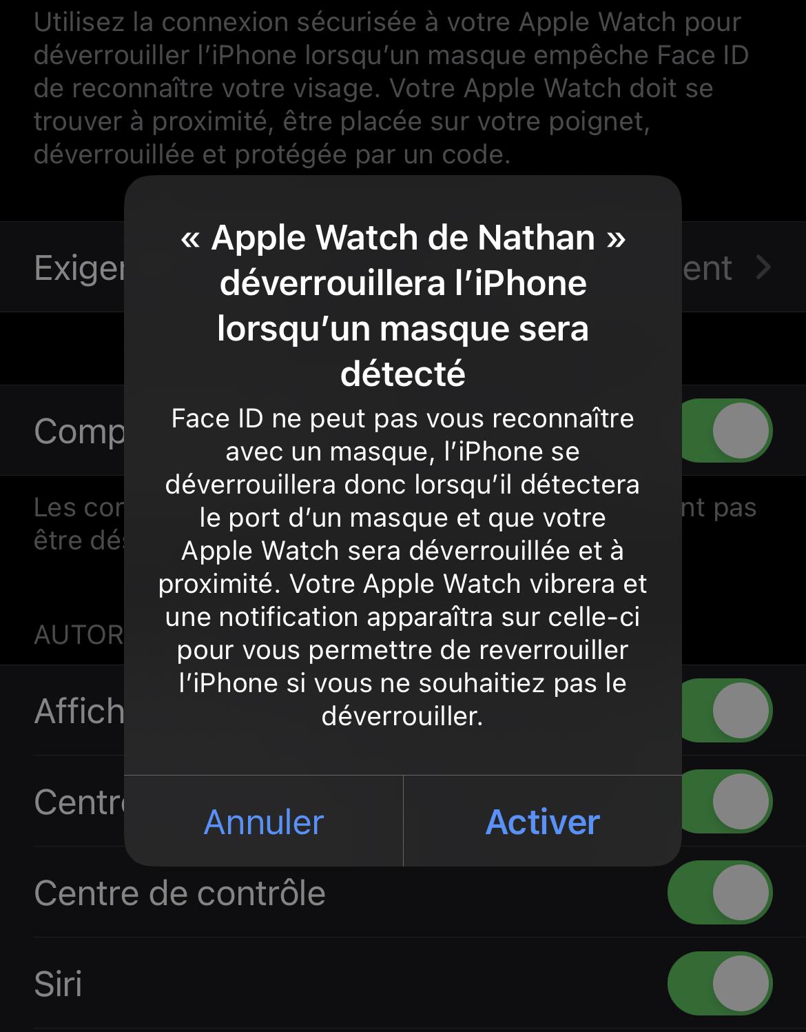 Apple Watch déverrouillage-4 © © Nathan Le Gohlisse pour Clubic