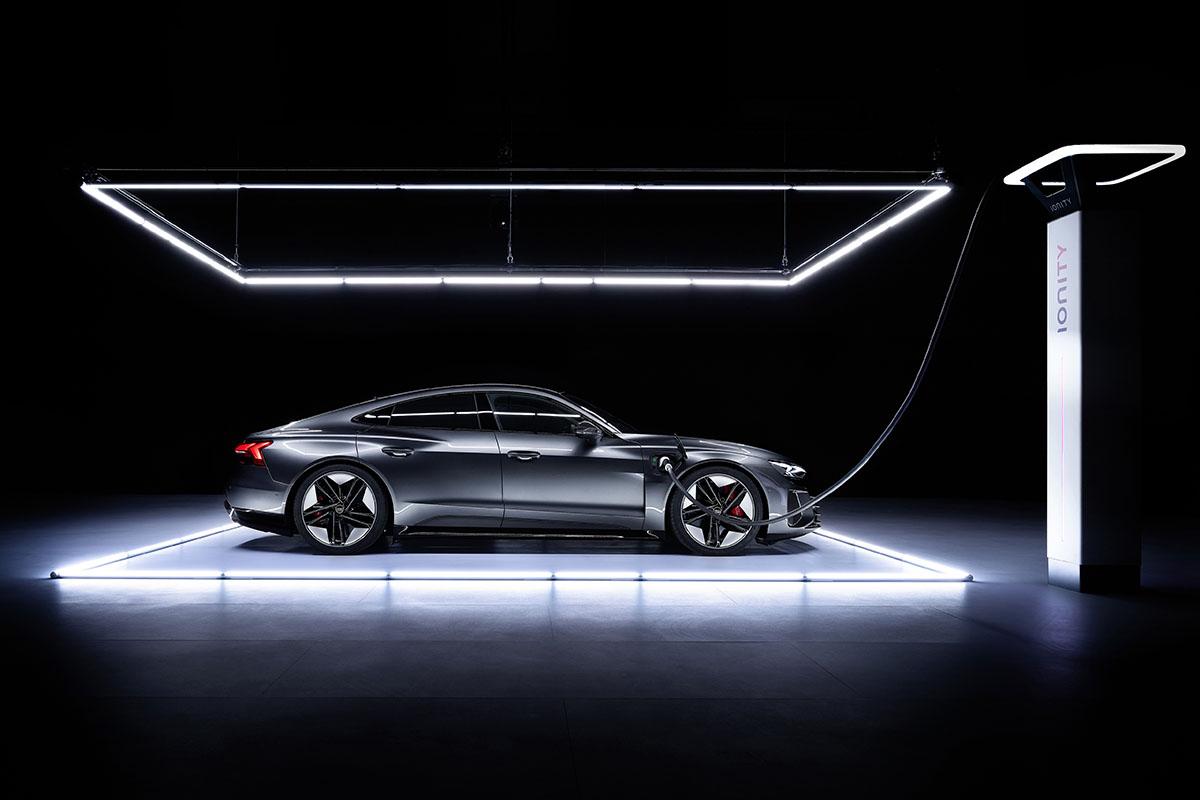 Audi e-tron GT Ionity © Audi