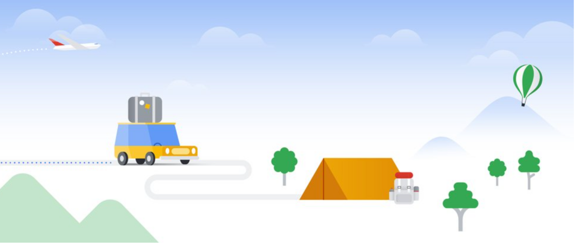 Google covid illustration