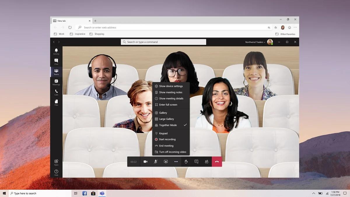 Microsoft Teams Together