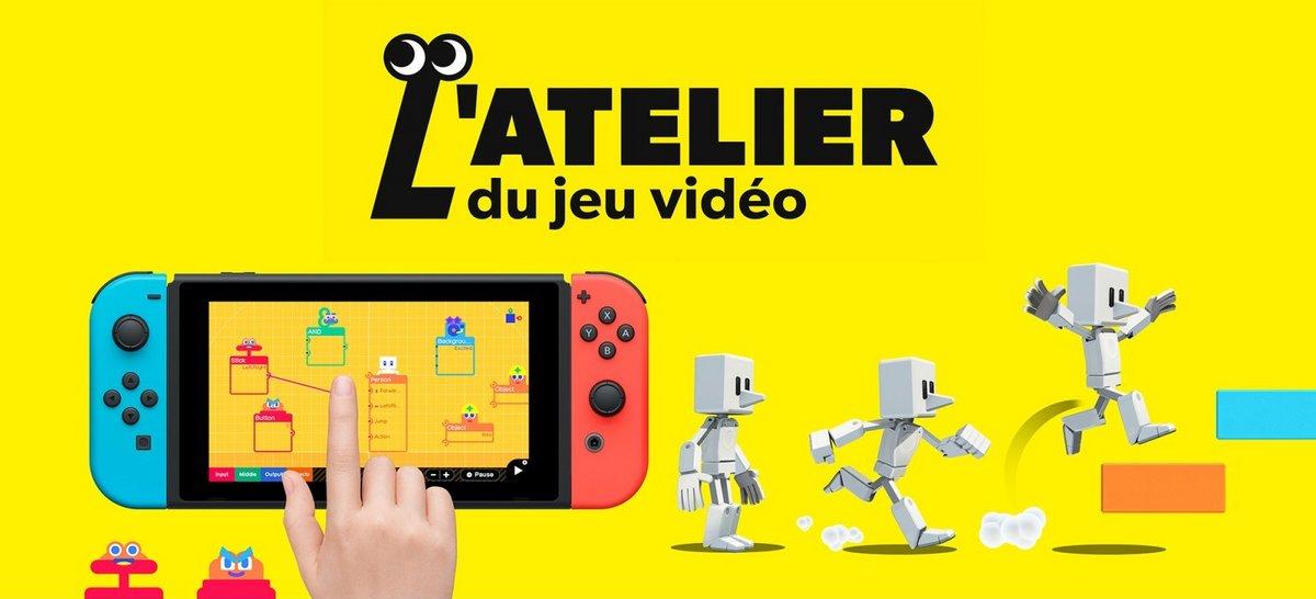 L'atelier du jeu vidéo © Nintendo