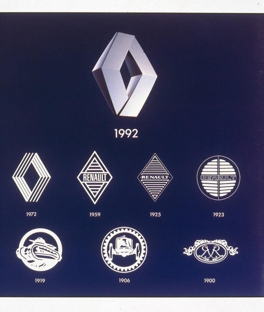 Renault logos © Renault