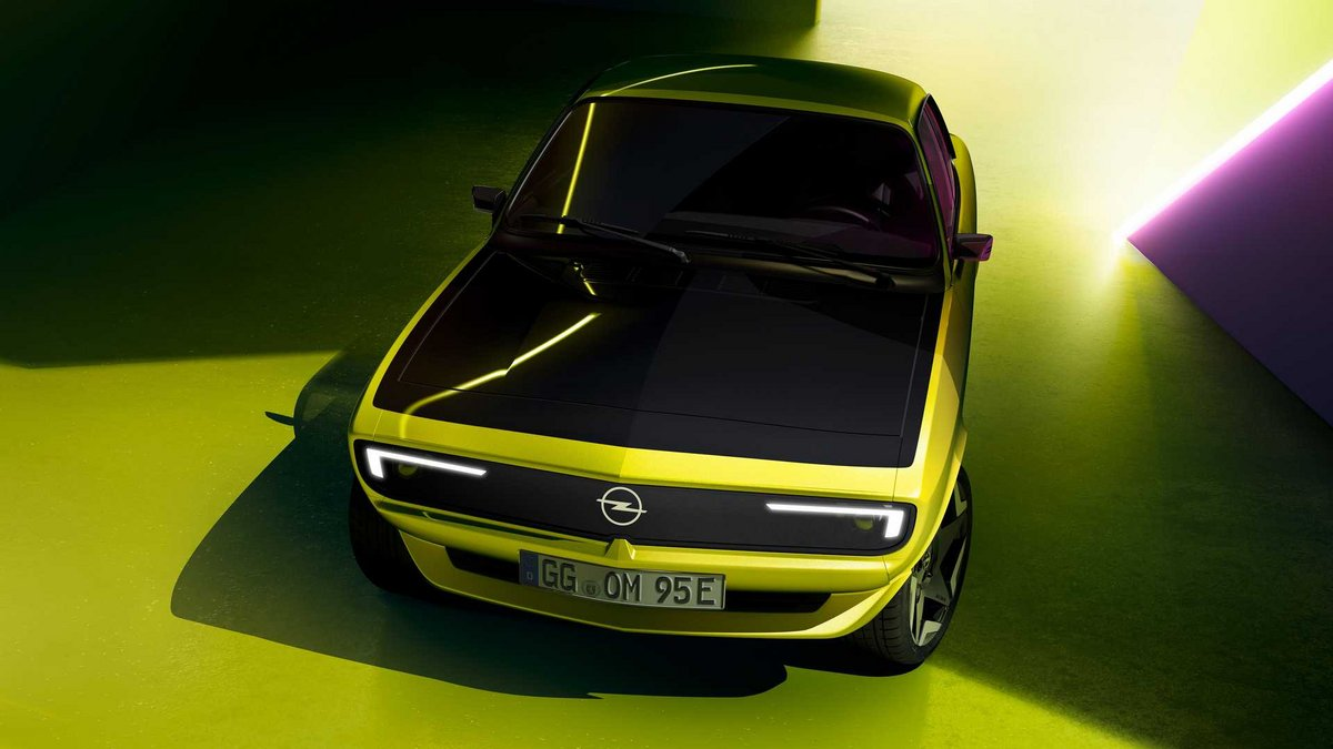Opel Manta GSe © Opel