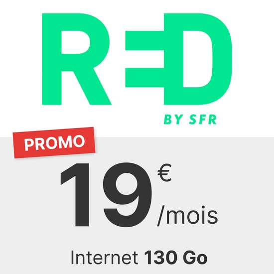 RED by SFR 130 Go